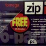 Iomega – 6 x Zip – 100 Mo – PC – Support de Stockage