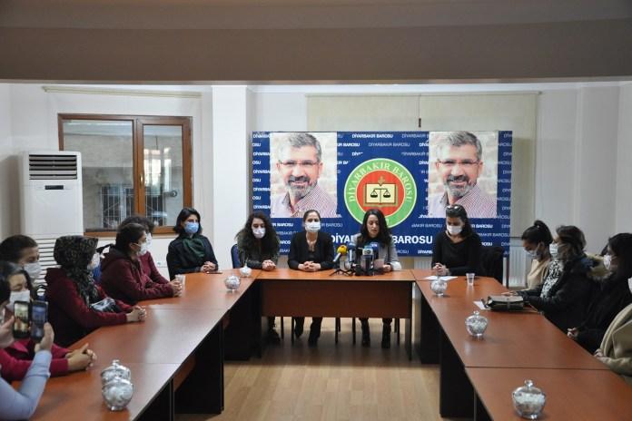 Gülistan Doku için Diyarbakır'da yapılan basın açıklaması
