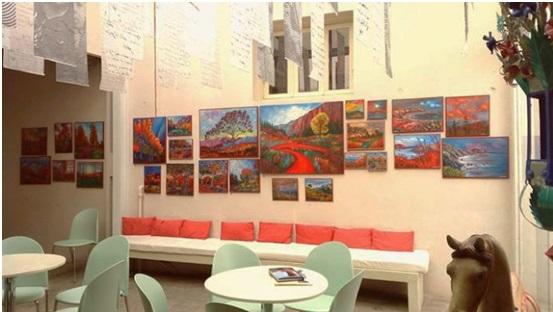 Σημαντική επιτυχία της έκθεσης ζωγραφικής «Βήματα στον Έβρο» του Στράτου Ιωαννίδη