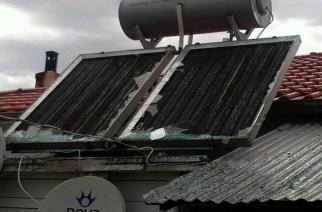 Σήμερα και αύριο οι δηλώσεις κατοίκων της περιοχής Τριγώνου για ζημιές απ' το χαλάζι