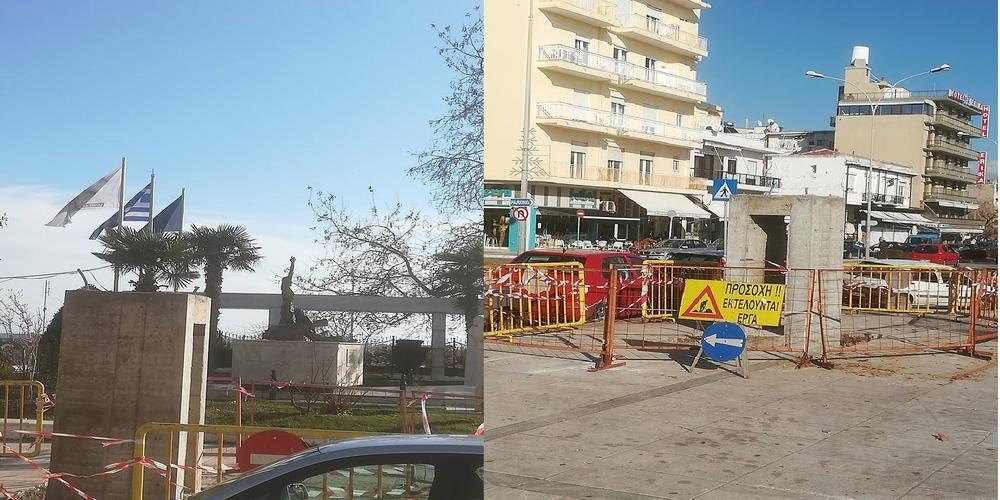 Αλεξανδρούπολη: Η βάση για το έργο του γλύπτη που προκάλεσε… κόλαση αντιδράσεων στην Αθήνα