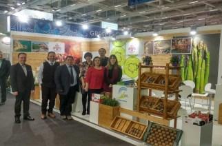 Τα σπαράγγια Τυχερού στη Διεθνή Έκθεση Fruit Logistica του Βερολίνου μέσω της Πριφέρειας ΑΜΘ