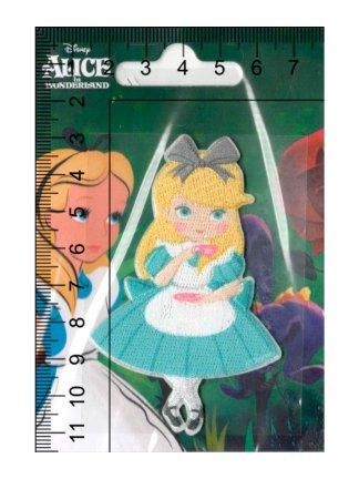 Термоаппликация<br>MQ-MD-16058-2020<br>Алиса в стране чудес</br>