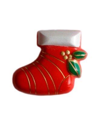 Пуговица DILL – Новогодний сапог