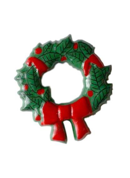 Пуговица DILL – Рождественский венок