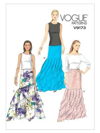 Выкройка Vogue №9173
