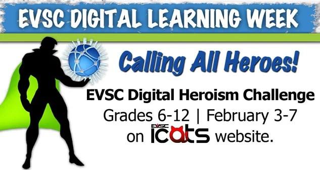 EVSC Digital Heroism Challenge Page Header