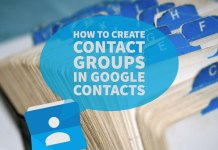 How to create contact groups in Google Contacts - Featured Image
