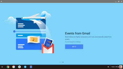 Events from Gmail