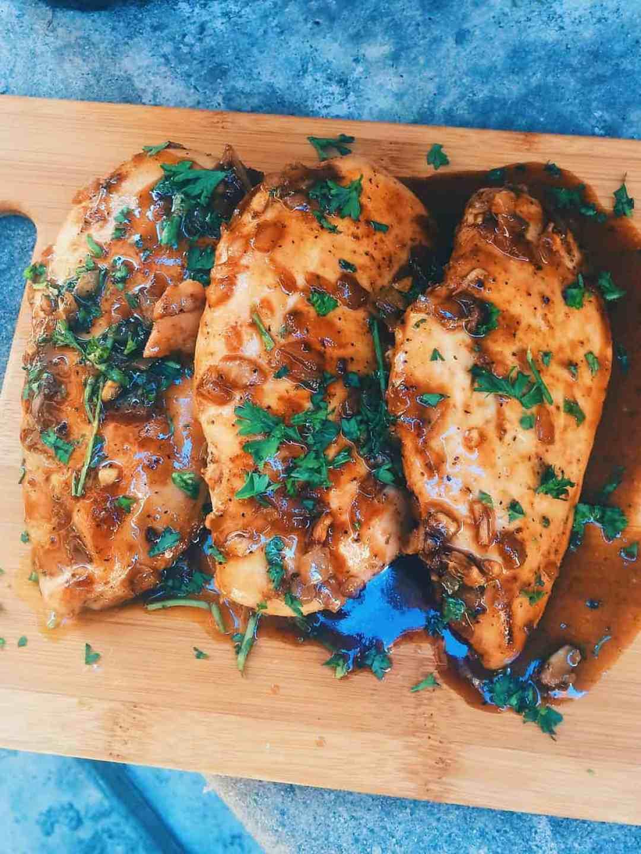Balsamic Glazed Chicken Breasts