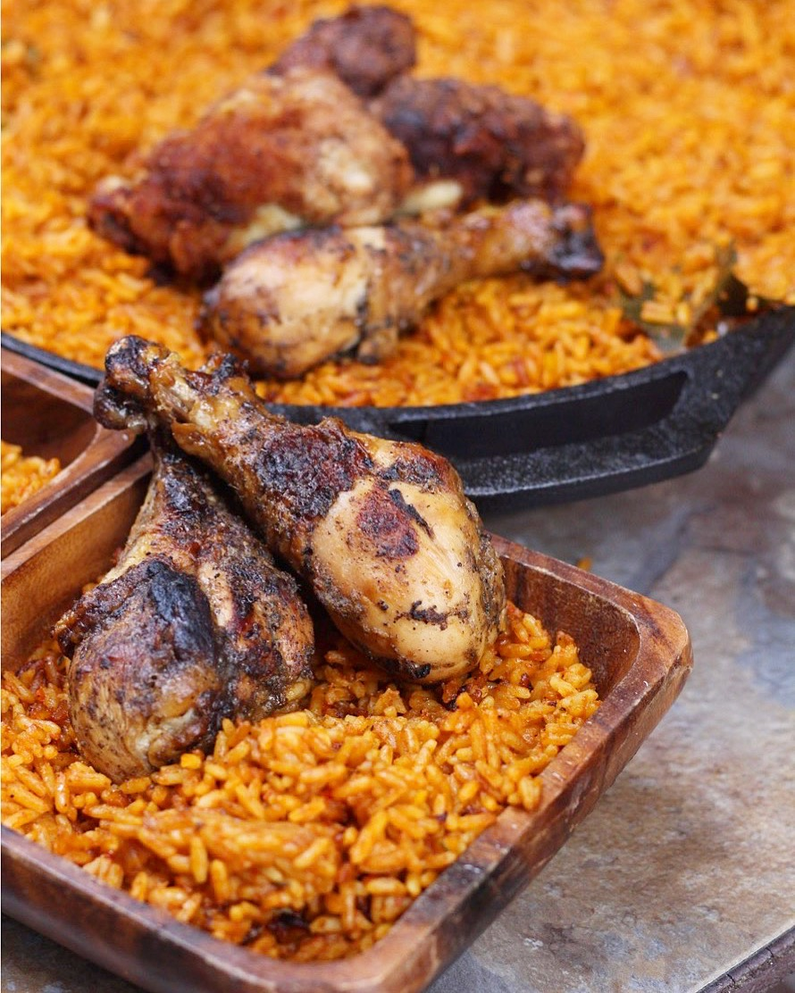 Steps on how to cook jollof rice