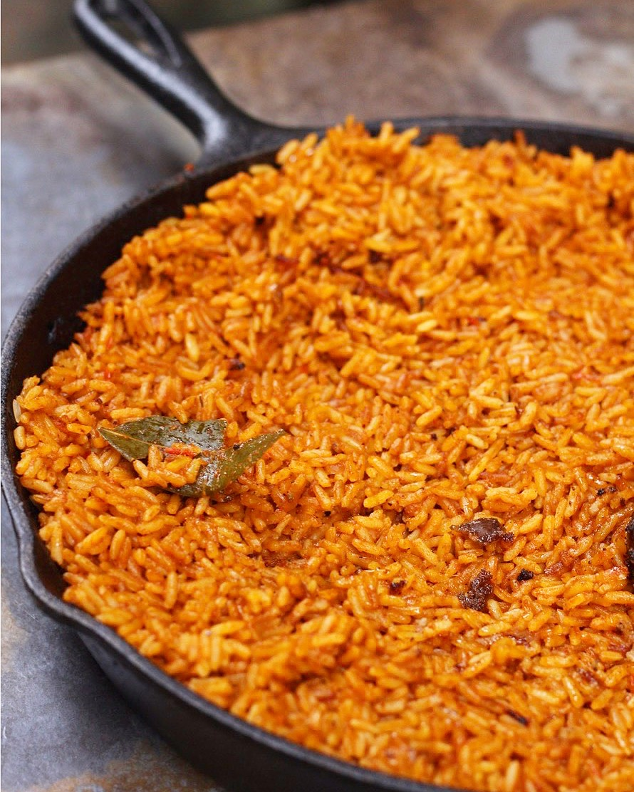 parboiling rice for jollof rice