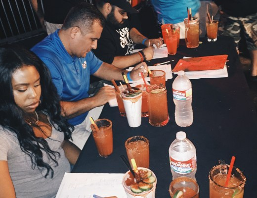 Judging at LA's first ever Michelada Invitational