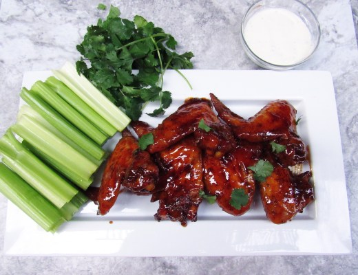 These hot, sticky, and sweet Honey Buffalo Hot wings are the best of both worlds giving you the option to have both hot and sweet wings all in one bite!