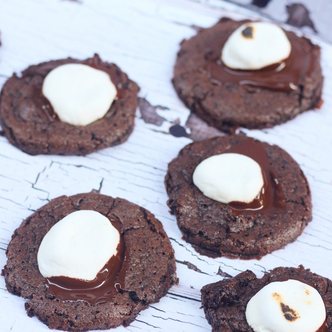 Hot Chocolate Cookies- Holiday Cookie Recipe - Ev's Eats