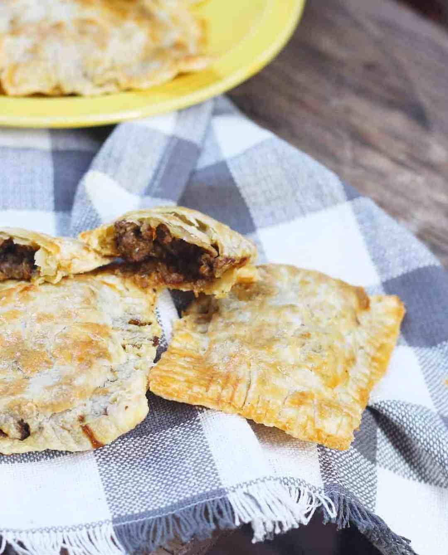 jamaican beef patties  ev's eats
