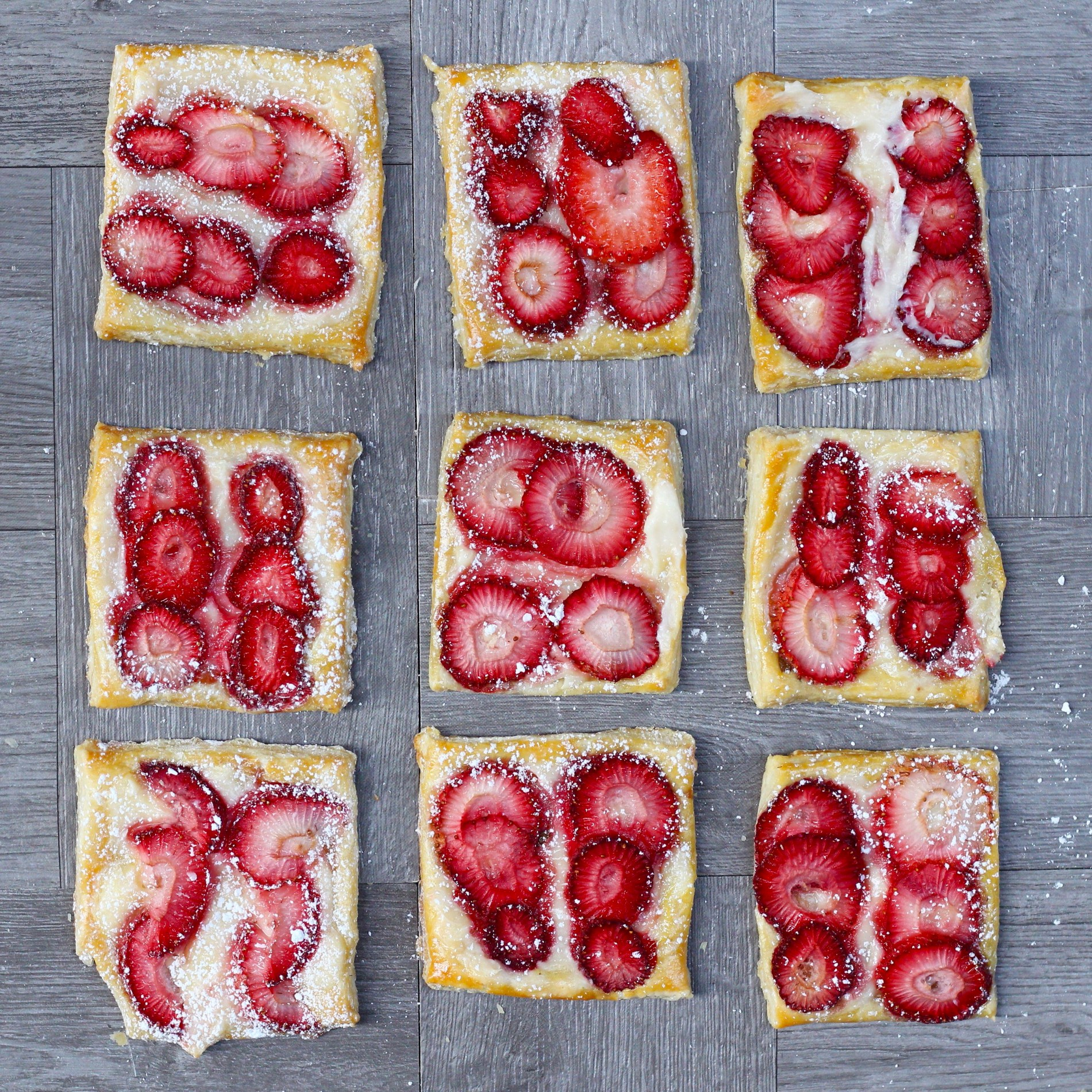 These strawberry cream cheese tarts are perfect for when you're craving something sweet and delicious. They are super easy to prepare, and are a beautiful to share with your guests.