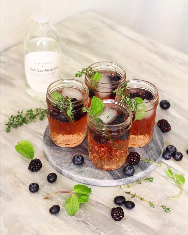 Blackberry Vodka Lemonade Ev S Eats