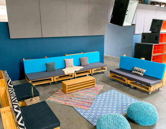 Lounge in Area 1 Evolve