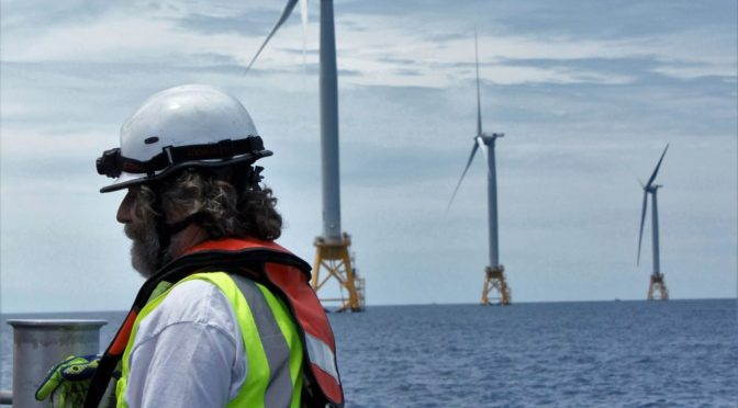 Global offshore wind energy industry will require over 77,000 trained on-site workers by 2024 | REVE News of the wind sector in Spain and in the world
