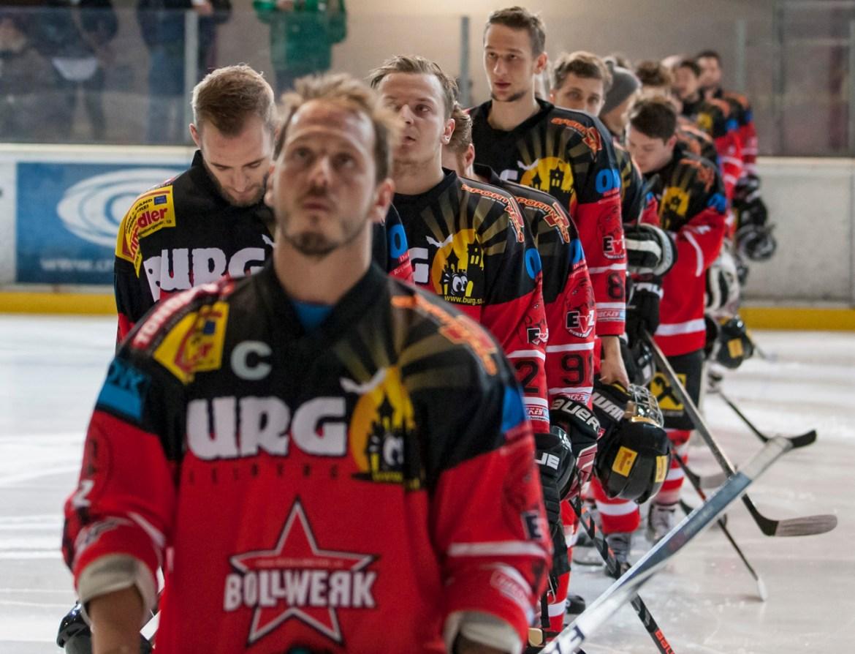 Vor Spiel 5 in Kapfenberg