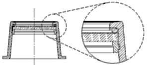 ewa-marine compact camera front port tubus