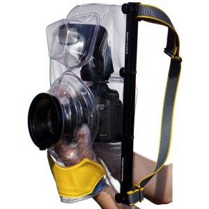 ewa-marine U-BFX100 SLR underwater housing left side