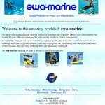 ewa-marine homepage 1998