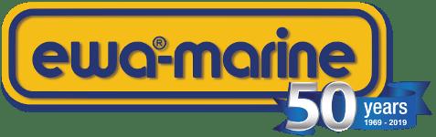 logo 50 years ewa-marine