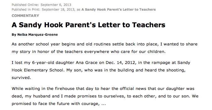persuasive letter to parents example