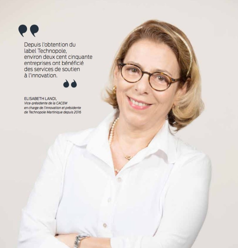 Elisabeth Landi technopole martinique
