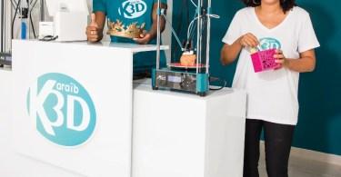 Karaïb 3D impression 3D martinique