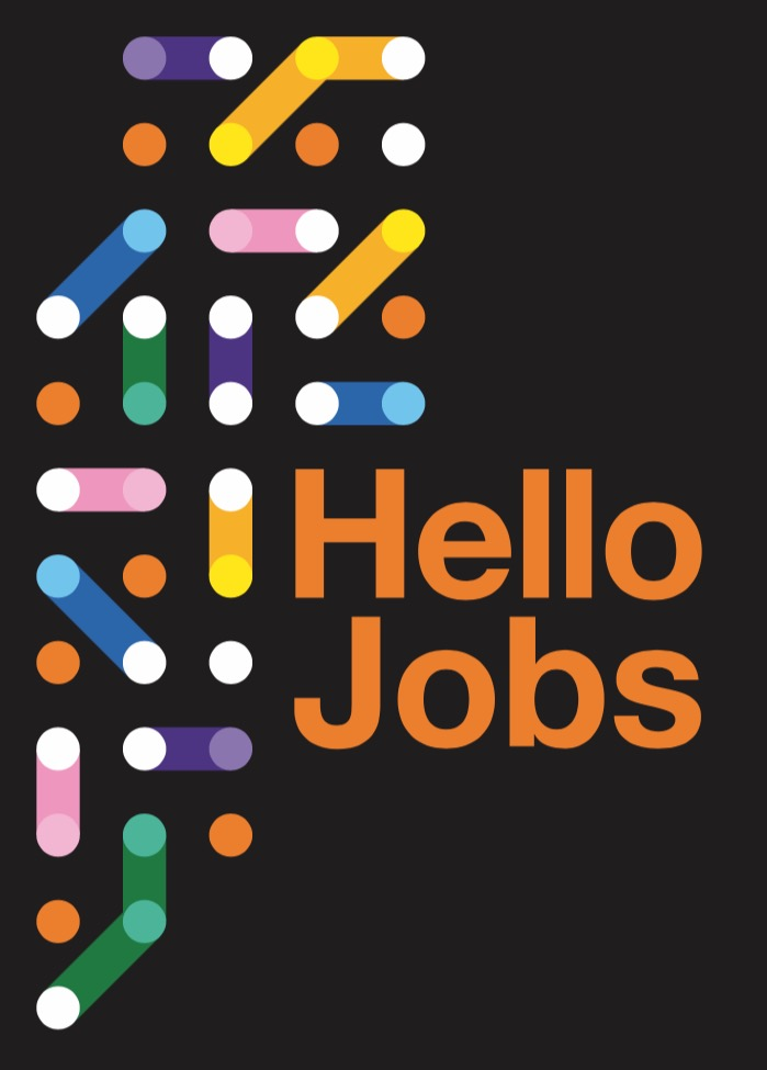 Orange lance Hello Jobs