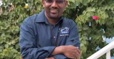 Pedro Selgi chef des dépôts Guyane de la SARA