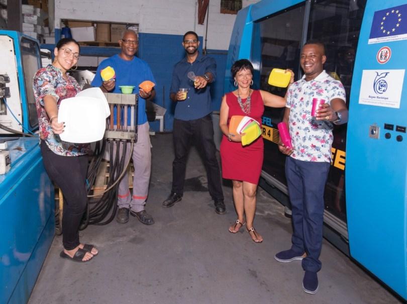 Sacherie Capron sacs papier et plastique made in Martinique
