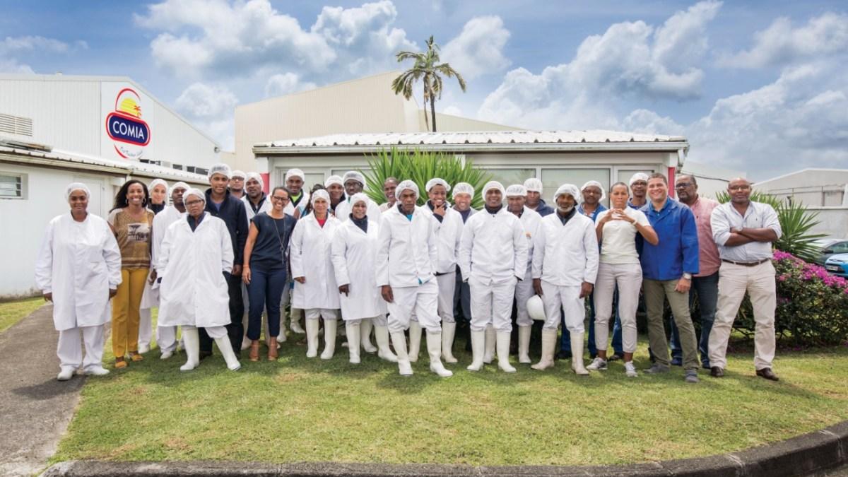 COMIA au cœur de l'assiette des Martiniquais depuis 40 ans !