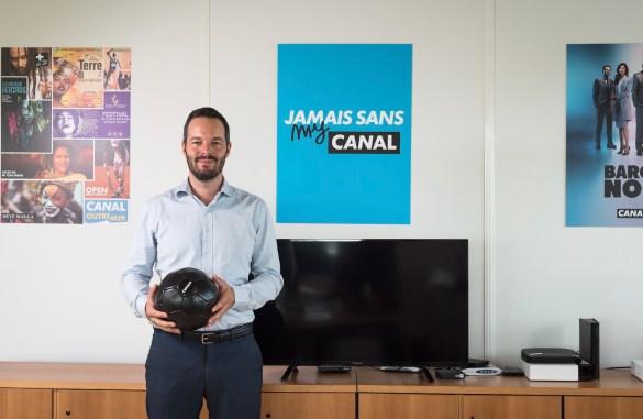 Adrien Bourreau, directeur général Canal+ Caraïbes