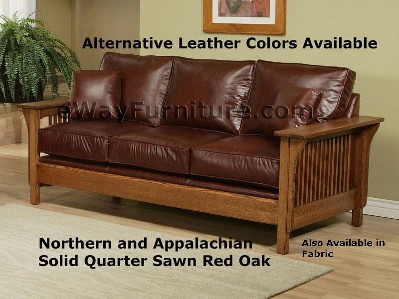 American Made Mission Style Rift And Quarter Sawn Oak