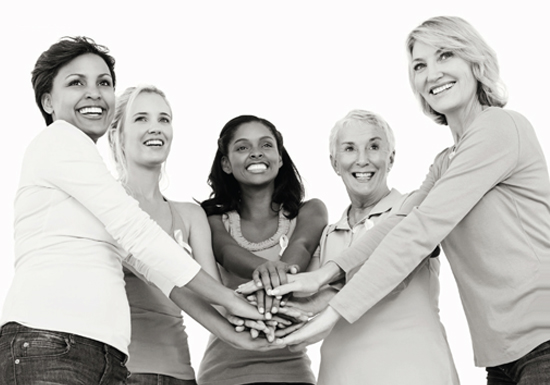 group of women support group