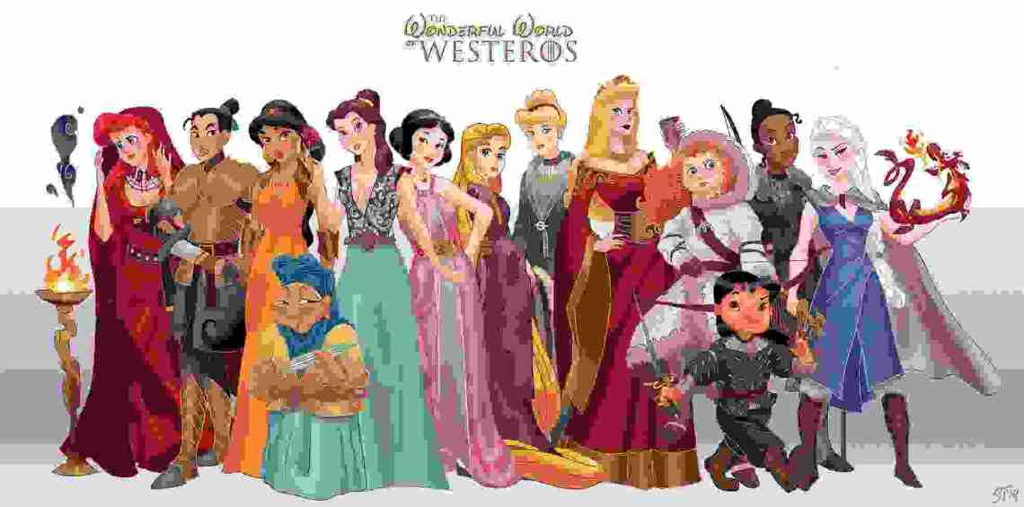 Disney-Princess-Game-of-Thrones