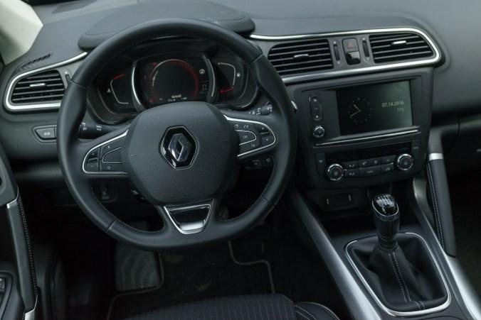 Renault Kadjar interiör