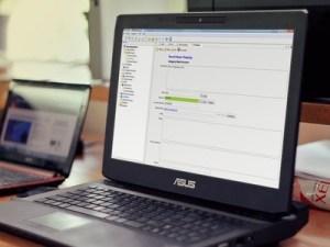 PWMinder Desktop on Laptop