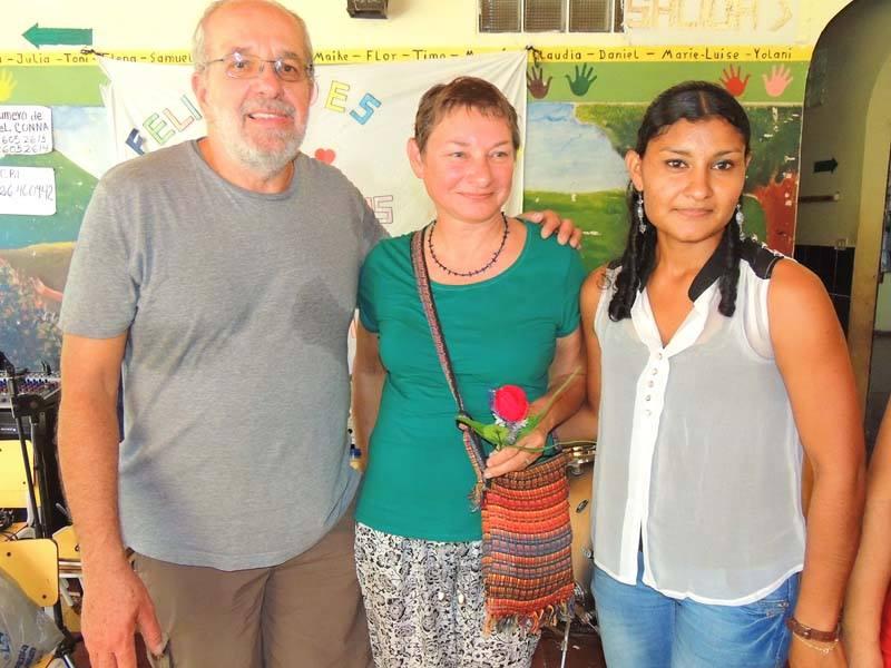 NEUES von der PartnerschaftReise zum Bajo Lempa Dezember 2013-Januar 2014