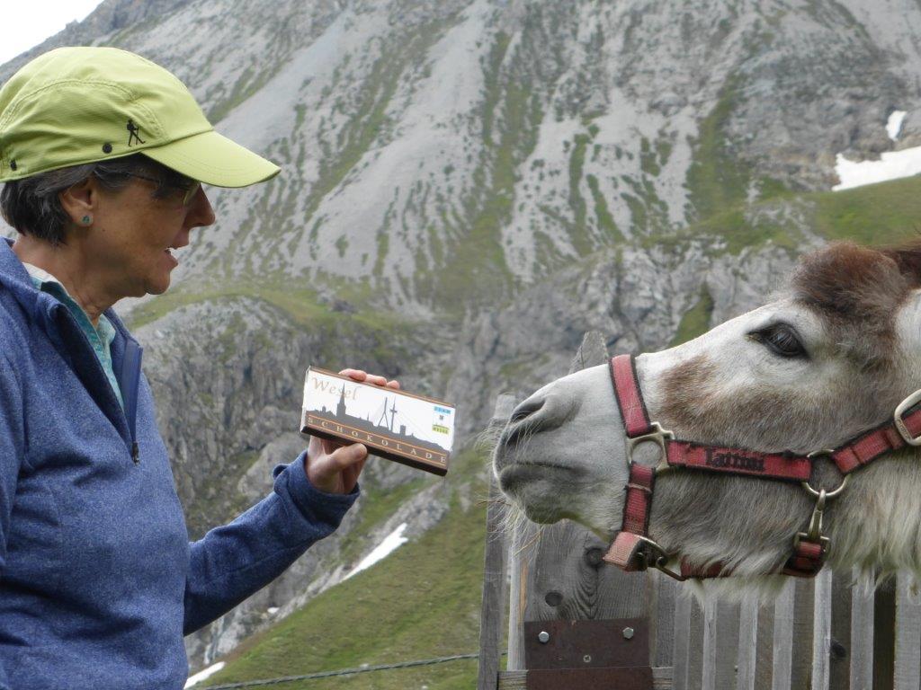 "Preisverleihung zum Gewinnspiel""Die Wesel-Schokolade gehtum die Welt!"""