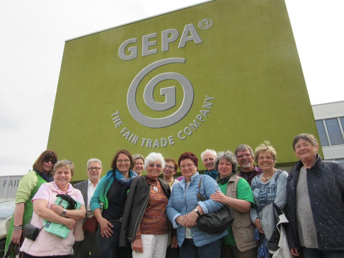 Mitarbeiter-Ausflug zur GEPA