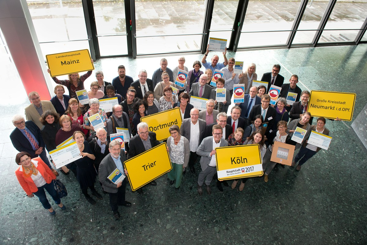 Fairtrade-Stadt Wesel gewinnt Sonderpreis über 10.000,- €uro!