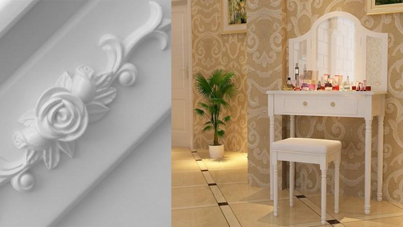 Toaletní stolek: Vynikající němý partner, který nikdy nezklame!