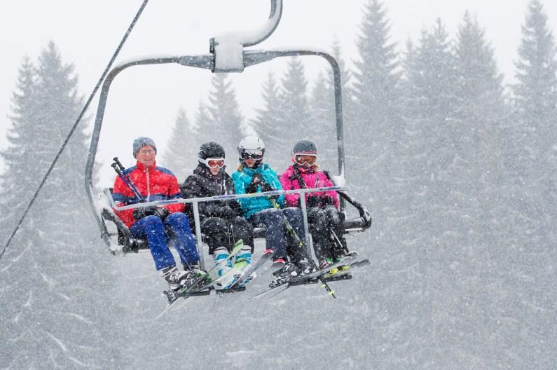 Návrat zimy přinesl desítky centimetrů nového sněhu. Všechny sjezdovky ve Ski&Bike Špičák jsou tak v perfektním stavu