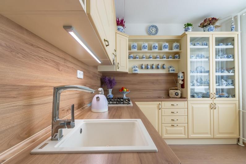 Boj s místem v malých kuchyních