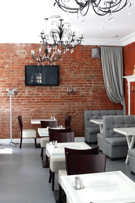 22857440 – new and clean luxury restaurant in european style